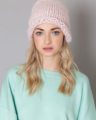 katlin-bonnet tricoté main avant