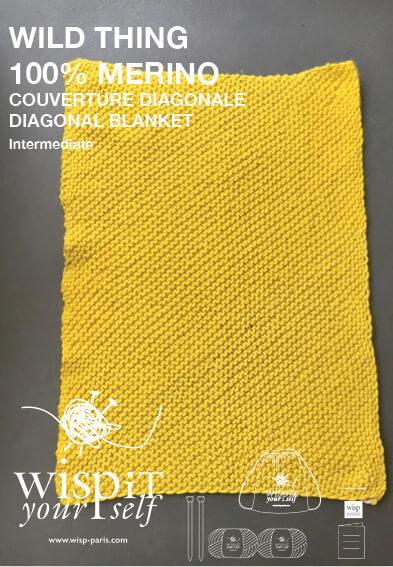 couverture-tricoté-en-biais-avec-point-mousse
