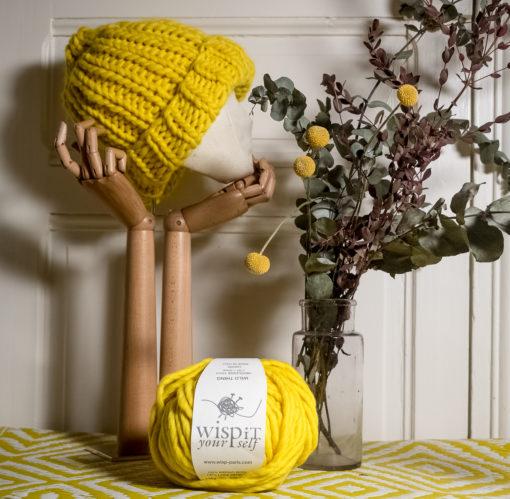 WISP sunflower bonnet pelote