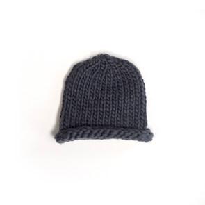hand knit wool beanie hat kenny smoke wisp