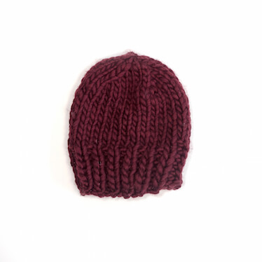 hand knit wool beanie hat kramer marsala wisphand knit wool socks sock it to me marsala wisp