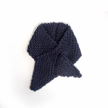 écharpe tricotée main 100% laine merino killing me softly