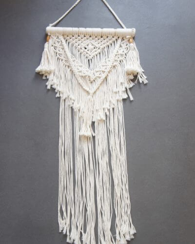 macrame wall hanging decor macarena wisp