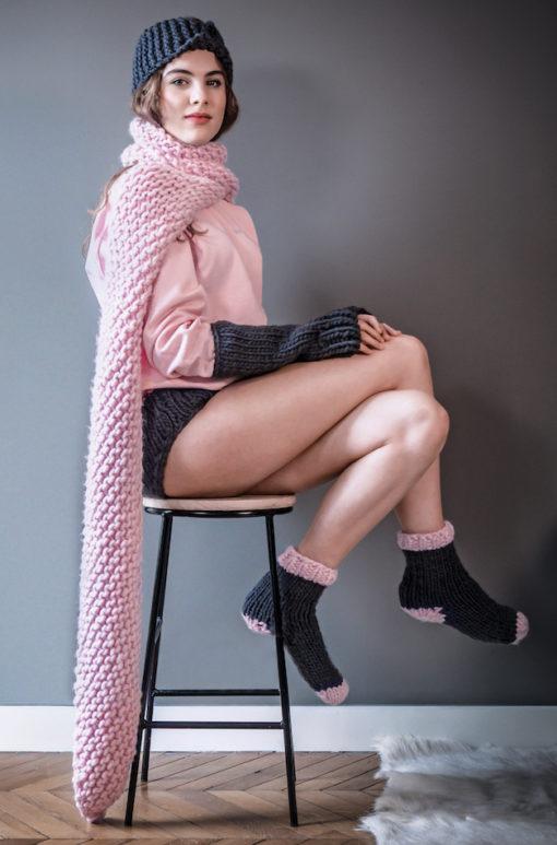 knitted scarf wisp krazy chamallow