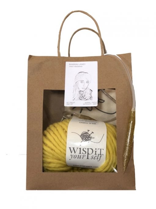 Wisp iT YourSelf knit kit headband